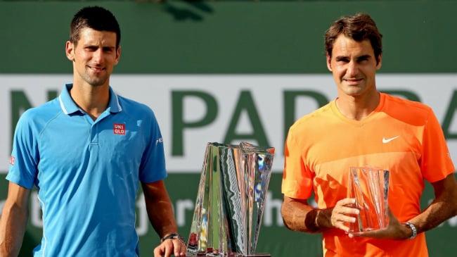 Djokovic Federer Indian Wells 2015