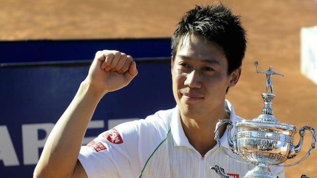 Kei Nishikori ATP Barcelona