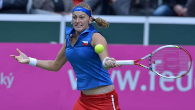 Petra Kvitova in Fed Cup