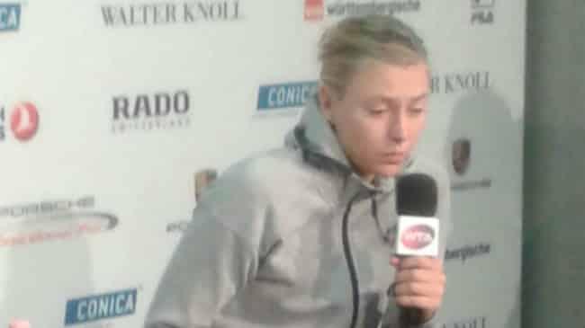 Maria Sharapova WTA Stoccarda