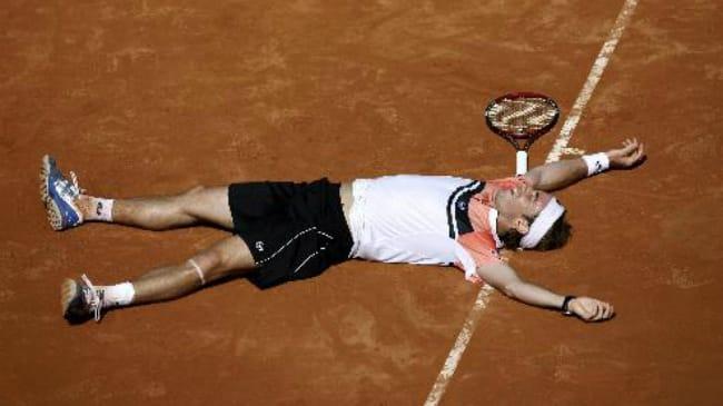 Volandri batte Federer a Roma 2007