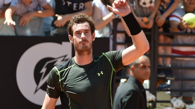 Andy Murray Internazionali BNL Italia