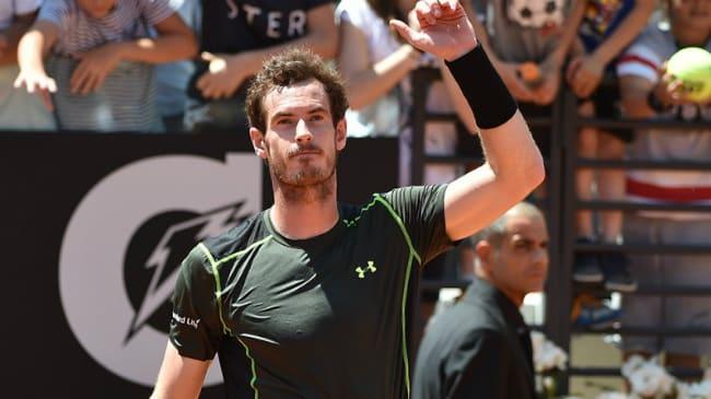 Andy Murray Internazionali BNL Italia