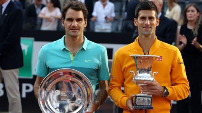 Djokovic Federer Roma 2015