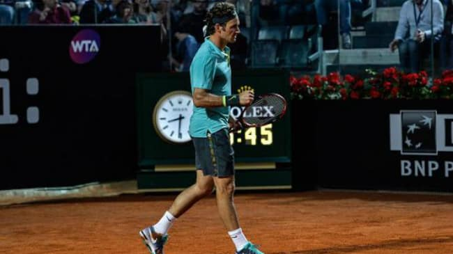 Federer batte Wawrinka Internazionali 2015