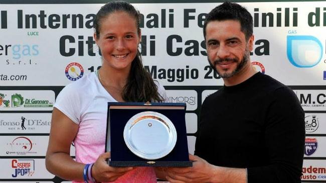 Kasatkina ITF Caserta