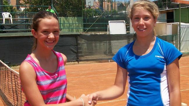 Alessia Truden (in azzurro)