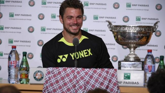 Wawrinka pantaloncini Roland Garros