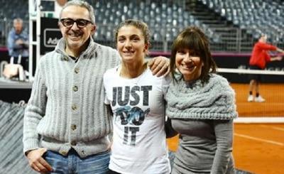 Giorgio, Sara e Fulvia Errani