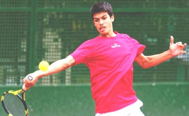 Carlos Alcaraz Garcia, foto fedetenismurcia.com