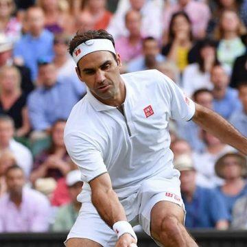 Roger Federer - foto Ray Giubilo