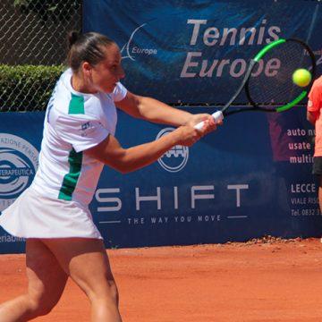 Elisabetta Cocciaretto - Foto Circolo Tennis Maglie