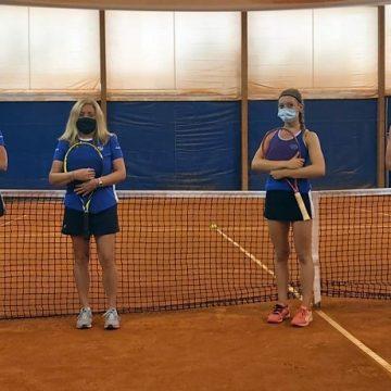 La formazione del Tc Crema. Da sinistra: Marcella Cucca, Daniela Russino (cap.), Giulia Finocchiaro e Lidia Mugelli