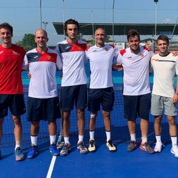 La squadra maschile del CTC
