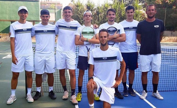 La formazione della Milano Tennis Academy promossa in Serie C