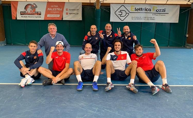 Il Club Tennis Ceriano festeggia la promozione della squadra maschile in Serie B2