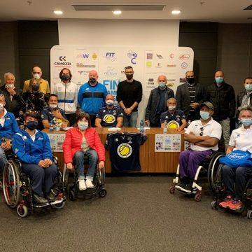 La presentazione delle finali del Campionato regionale a squadre di tennis in carrozzina