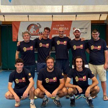 La squadra maschile del CTC, da neopromossa alla Serie B1 in un solo anno